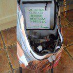 Eva: El carro de la compra también me resulta muy útil para llevar sin esfuerzo el vidrio al contenedor verde