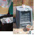 Felicinano: Estamos de obra así que, de momento, aprovechamos el hueco bajo la escalera para los distintos cubos para reciclar. Además la basura orgánica la aprovechamos en el compostador.