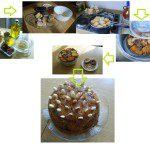 German: SOPA DULCE (Reciclado de pan duro) Ingredientes: - Pan duro, sobre medio kilo en rebanadas de un dedo de anchas. - Un bote de leche condensada pequeño. - Frutos secos: nueces,almendras, avellanas picadas. - Uvas pasas sultanas, un puñado. - Aceite de oliva. - Miel. Preparación: Echamos la leche condensada en un bol junto con dos medidas de agua (del tamaño del mismo bote) y removemos bien. Empapamos las rebanadas en esta mezcla y las freímos. Untamos la base del molde con miel y colocamos una capa de pan, le echamos por encima uvas y frutos secos; volvemos a colocar otra de pan y frutos secos ; acabamos con una capa de pan. La leche que nos haya sobrado se la echamos por encima. Cocemos el conjunto al baño María en el horno o en olla a presión durante treinta minutos. Desmoldamos pasando un cuchillo por el borde cuando este frío, lo adornamos con almendras, ¡y listo!
