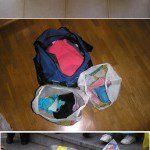 """Francisco: En casa reutilizamos las bolsas de plástico sobre todo como bolsas para la basura y para llevar a reciclar los envases. También para meter el bañador y las chanclas mojados después de ir a la piscina o a la playa, para meter la ropa sucia en la maleta que se va generando en un viaje y así no mezclarla con la limpia, para separar la comida de la ropa en la mochila si vamos de excursión, etc. Además siempre llevamos alguna bolsa de plástico en el coche por si alguien se marea. Las bolsas de plástico son muy socorridas en carnaval para hacer disfraces """"caseros"""". Lo que nunca hemos probado son las manualidades con las bolsas; tendremos que practicar el ganchillo y el fundido siguiendo vuestras indicaciones."""