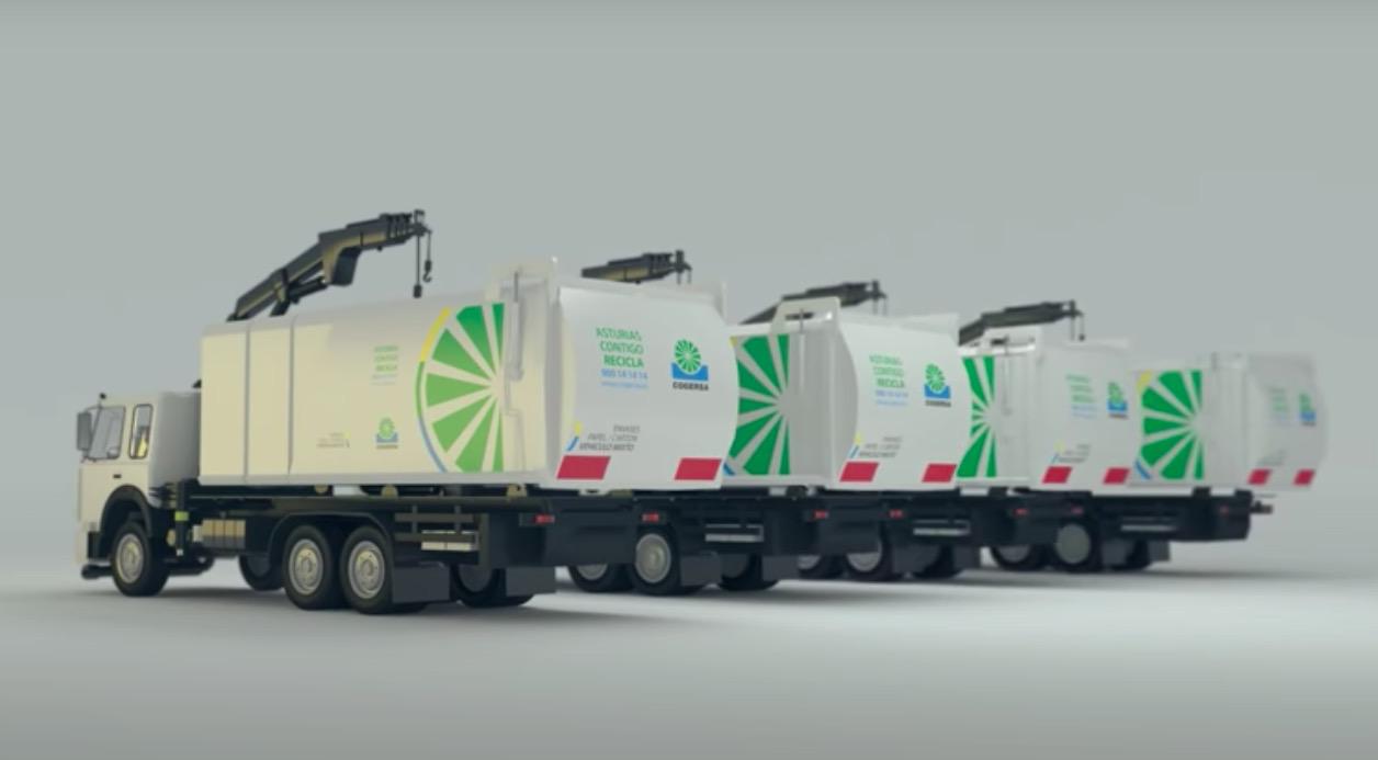 camiones doble tolva